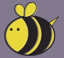 Cute little bumble fat bee Kids Clothes