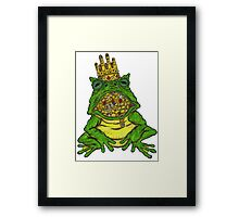 Covetous Toad Lord Framed Print