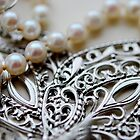 Vintage Beads I by Claire Elford