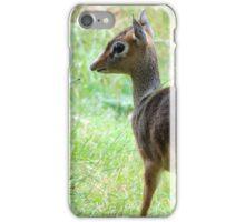 Startled Dik Dik  iPhone Case/Skin