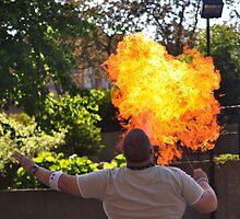 Flamethrower by Craig Blanchard