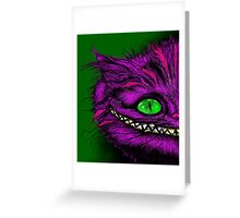 WERE ALL MAD HERE Greeting Card