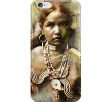 Jicarilla Maiden-Apache iPhone Case/Skin