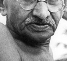 Rhandi Ghandi Sticker