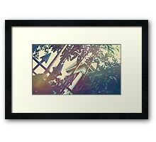 Haunted Gate Framed Print