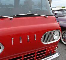 Old Ford Pickup Van by vigor