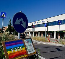 This way for peace,Sassuolo,Italy by Davide Ferrari