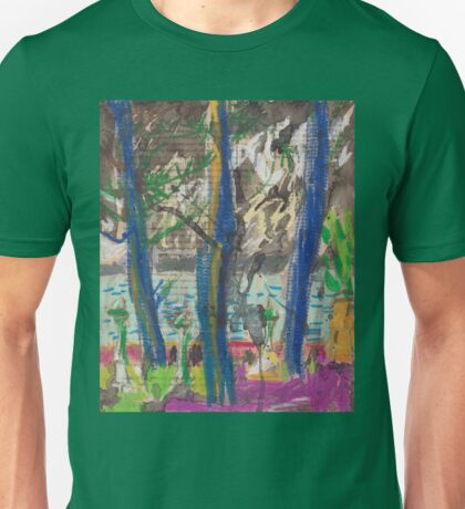 From Darling Point Towards Point Piper on an Overcast Day Unisex T-Shirt