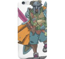 Dungeons & Dragons & MF DOOM iPhone Case/Skin