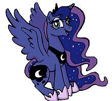 Princess Luna by SophilliaArts