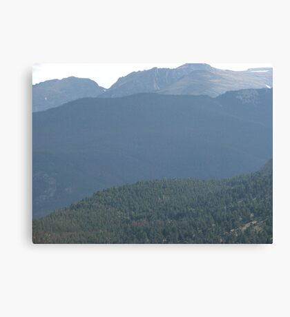 Rocky Mountain National Park, CO Canvas Print