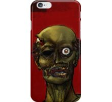 its a one eyed zombie iPhone Case/Skin