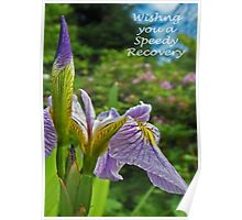 Get Well Soon card Poster