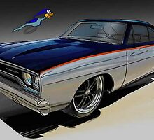 Plymouth Roadrunner by federinp