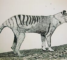 The Thylacine by GEORGE SANDERSON
