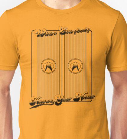 Cheers to Ten Forward Unisex T-Shirt