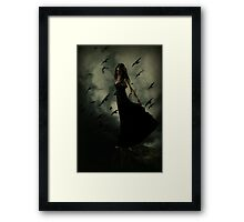 Wish I could fly... Framed Print