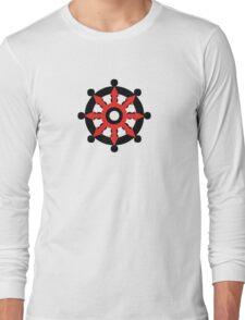 Chaos Dharma Wheel Long Sleeve T-Shirt
