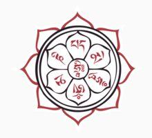 Prayer Lotus by buddhabadges