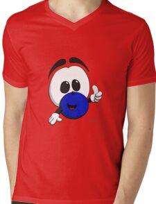 Squage! Mens V-Neck T-Shirt