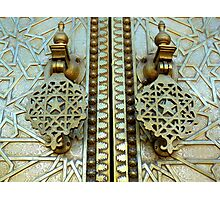 Royal door knockers Photographic Print