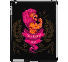 lion bodybuilder iPad Case/Skin