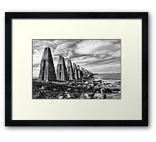 Cramond Causeway  Framed Print