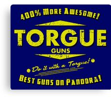 Torgue Guns Canvas Print