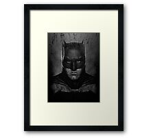Batman Ben Affleck (2.0) Framed Print