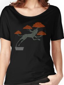 Bonsai Lion Escapes Women's Relaxed Fit T-Shirt