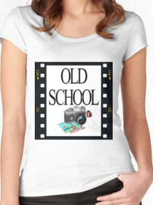 Old School Women's Fitted Scoop T-Shirt