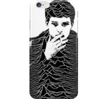 Ian Curtis+ Unknown Pleasures= perfection  iPhone Case/Skin
