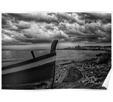A dramatic seascape  Poster