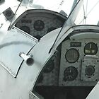 Twin cockpits of a bi-plane by OntheroadImage