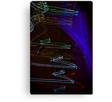 Laser Paint Canvas Print
