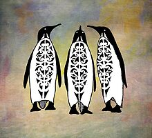 Tribal Penguins by tanyadann
