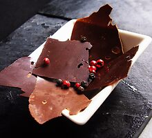 Peppery chocolate shards by RecipeTaster