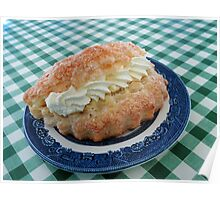 Eat me! Irresistible Apple Turnover Poster