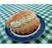 Eat me! Irresistible Apple Turnover Photographic Print