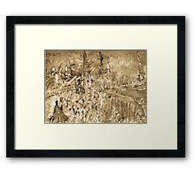 MACONDA  Framed Print