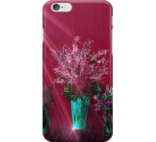 Pink and Red Floral Study iPhone Case/Skin