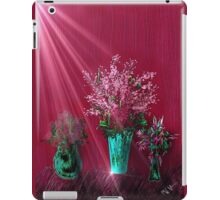 Pink and Red Floral Study iPad Case/Skin