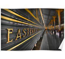 Trans Orient Express Poster