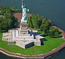 Statue of Liberty, New York by Maggie Hegarty