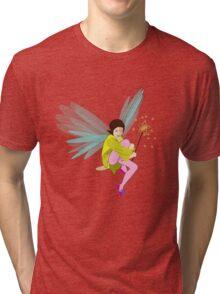 Butterfly Fairy Tri-blend T-Shirt