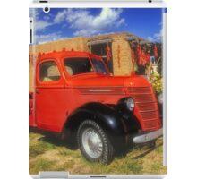 Red Chili Truck iPad Case/Skin
