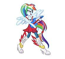 Rainbow Dash Rainboom Photographic Print