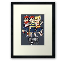 Brother From Another MOTHER Framed Print