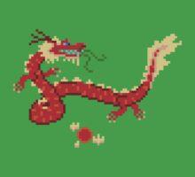 8-Bit Dragon by Moppo