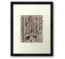 Tree Tunnel, McKell Park Framed Print